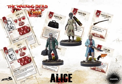 The Walking Dead: All Out War- Alice Booster
