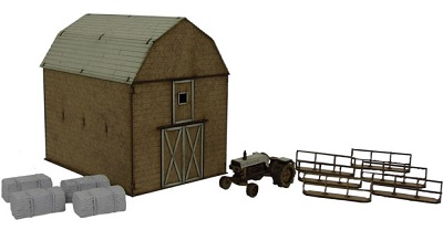 The Walking Dead: All Out War- GREENE FAMILY FARM MDF KIT