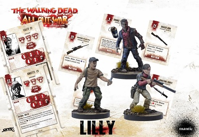 The Walking Dead: All Out War- LILLY BOOSTER