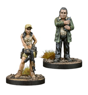 The Walking Dead: All Out War- Rosita and Eugene