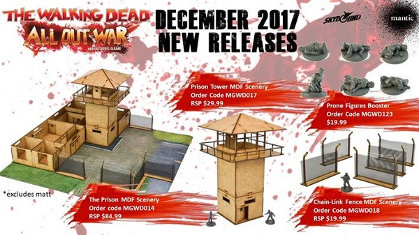 The Walking Dead: All Out War Terrain- The Prison