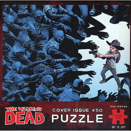 The Walking Dead Puzzle: Comic Cover Art #50
