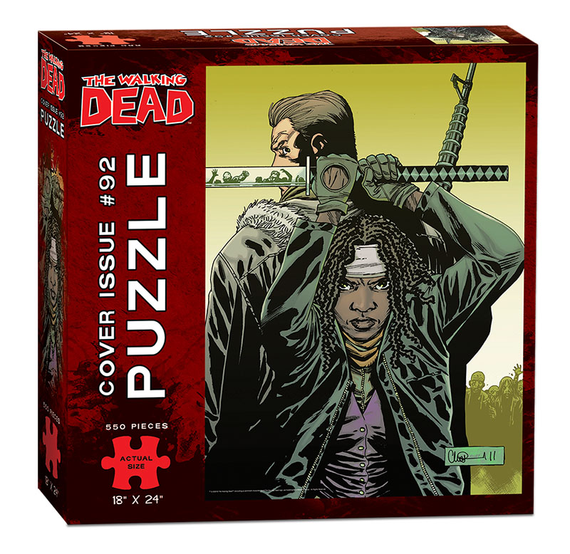 The Walking Dead Puzzle: Comic Cover Art #92