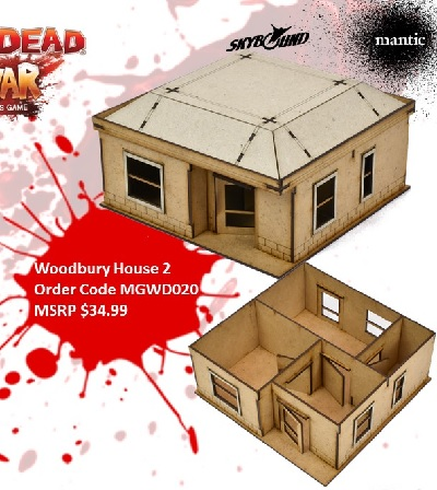 The Walking Dead: Woodbury House B