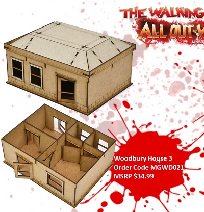 The Walking Dead: Woodbury House C