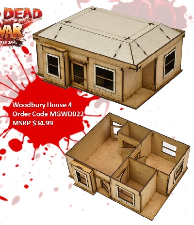 The Walking Dead: Woodbury House D