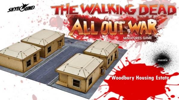 The Walking Dead: Woodbury Housing Estate (Limited)