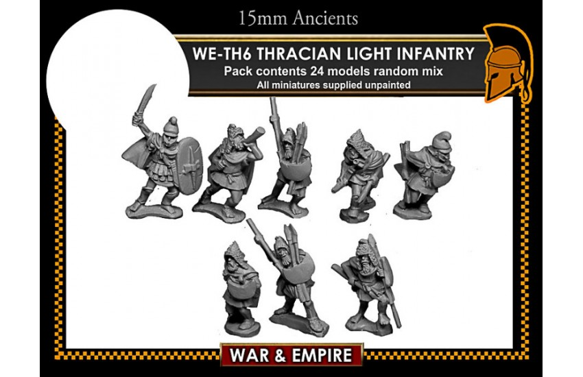 Thracians: Thracian Light Infantry