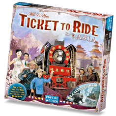 Ticket To Ride: Map Collection #1- Asia