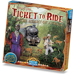 Ticket To Ride: Map Collection #3- Heart of Africa
