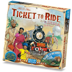 Ticket To Ride: Map Collection #2- India