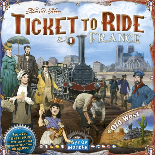Ticket To Ride: Map Collection #6- France / Old West