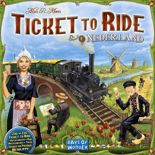 Ticket To Ride: Map Collection #4- Nederland