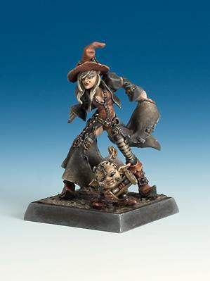 Freebooter Miniatures: Time Witch
