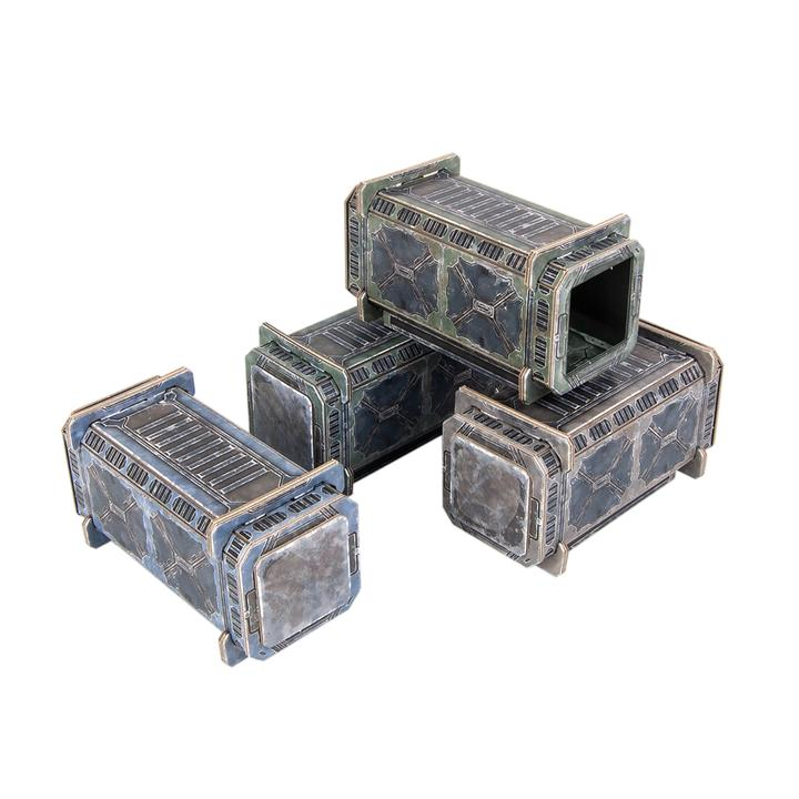 TinkerTurf: Sector Meritas Containers Set- Neutral Zone