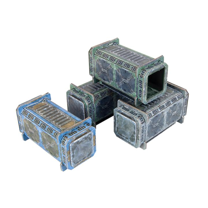 TinkerTurf: Sector Meritas Containers Set- Standard Issue