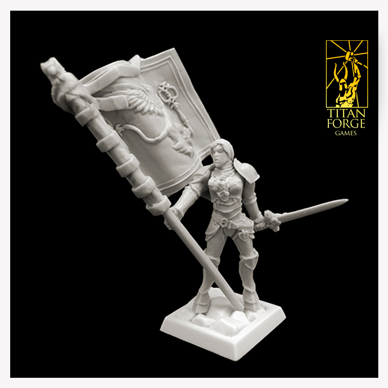 Titan Forge: Defenders of the Realm: Griffon Battle Standard Bearer