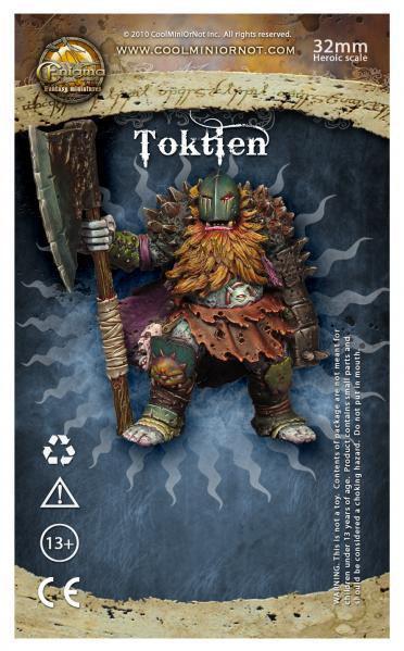 Enigma Miniatures: Toktien, Spiny Chaotic Dwarf