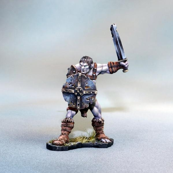 Tomb Guardians: Vampire Barbarian Male Slave - Galon Rhilf