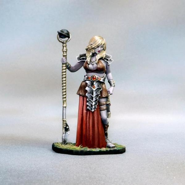 Tomb Guardians: Vampire Cleric - Demetria the Hollow