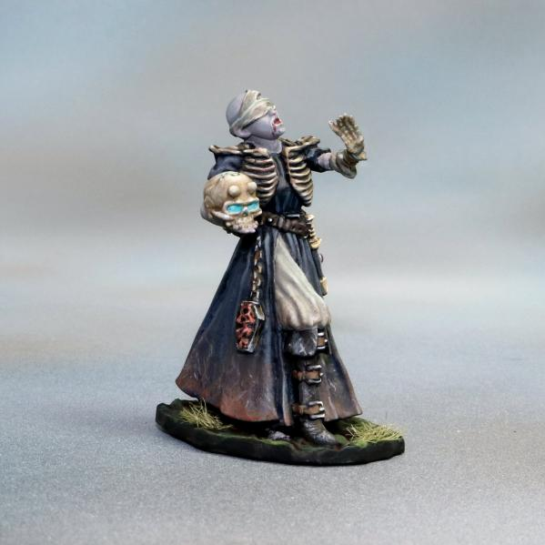 Tomb Guardians: Vampire Female Necromancer - Nezera the Soulreaper