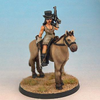 Tombstone: Miss Scarlet Mounted