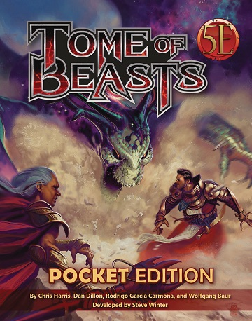 Tome of Beasts (5E): Pocket Edition