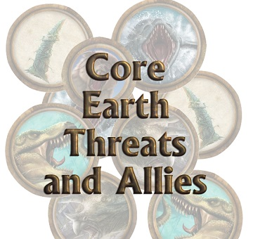 Torg Eternity: Core Earth Threats and Allies