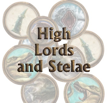 Torg Eternity: High Lords and Stelae