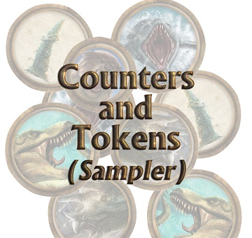 Torg Eternity: Living Land Counters and Tokens
