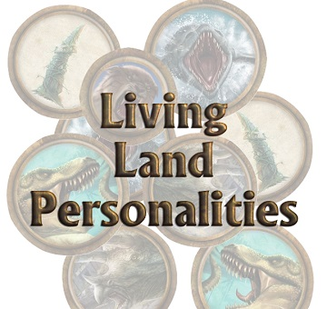Torg Eternity: Living Land Personalities