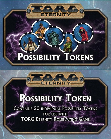Torg Eternity: Possibility Tokens
