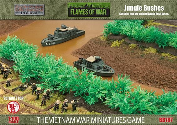 Tour of Duty: Terrain: Jungle Bushes (x6)