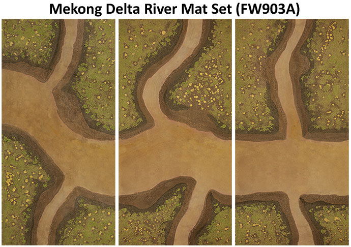Tour of Duty: Terrain: Mekong River Mat