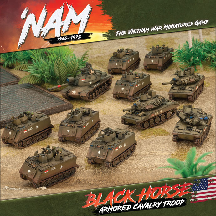 Nam 1965-1972: USA: BLACK HORSE ARMORED CAVALRY TROOP (US ARMY)