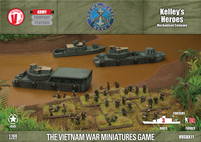 Tour of Duty: USA: Kelleys Heroes (Mechanised Company)