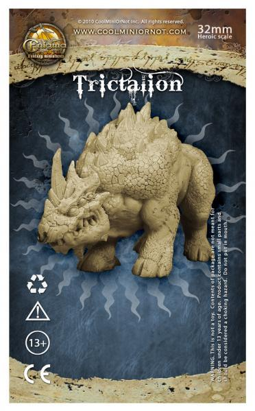 Enigma Miniatures: Trictalion, Beast of Olath