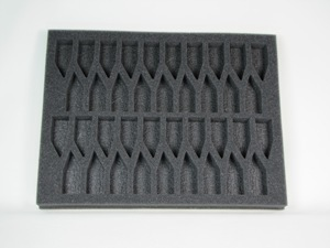 "Battlefoam: WH40K: Tyranids: Tray: Troop (1.5"" Version)"