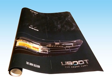 U-Boot The Board Game: Latex Giant Playing Mat