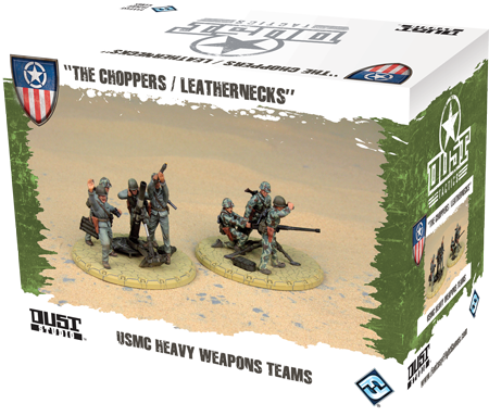 Dust Tactics/ Warfare: Allied: USMC Heavy Weapons Teams