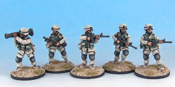 Black Scorpion Miniatures: US Marines: USM 1 M4 Carbines
