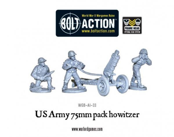 Bolt Action: USA: 75mm Howitzer