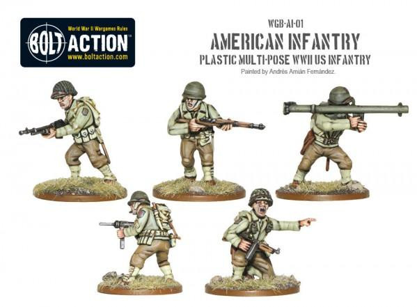 Bolt Action: USA: American Infantry