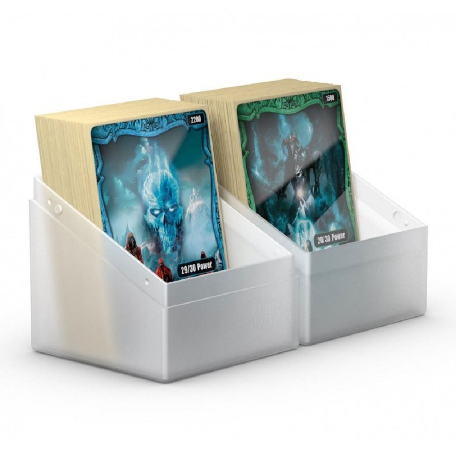 Ultimate Guard: Boulder Deck Box Standard 100+: Frosted