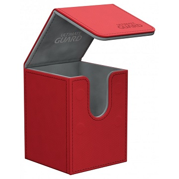 Ultimate Guard: Flip Deck Case Xenoskin 100+: Red