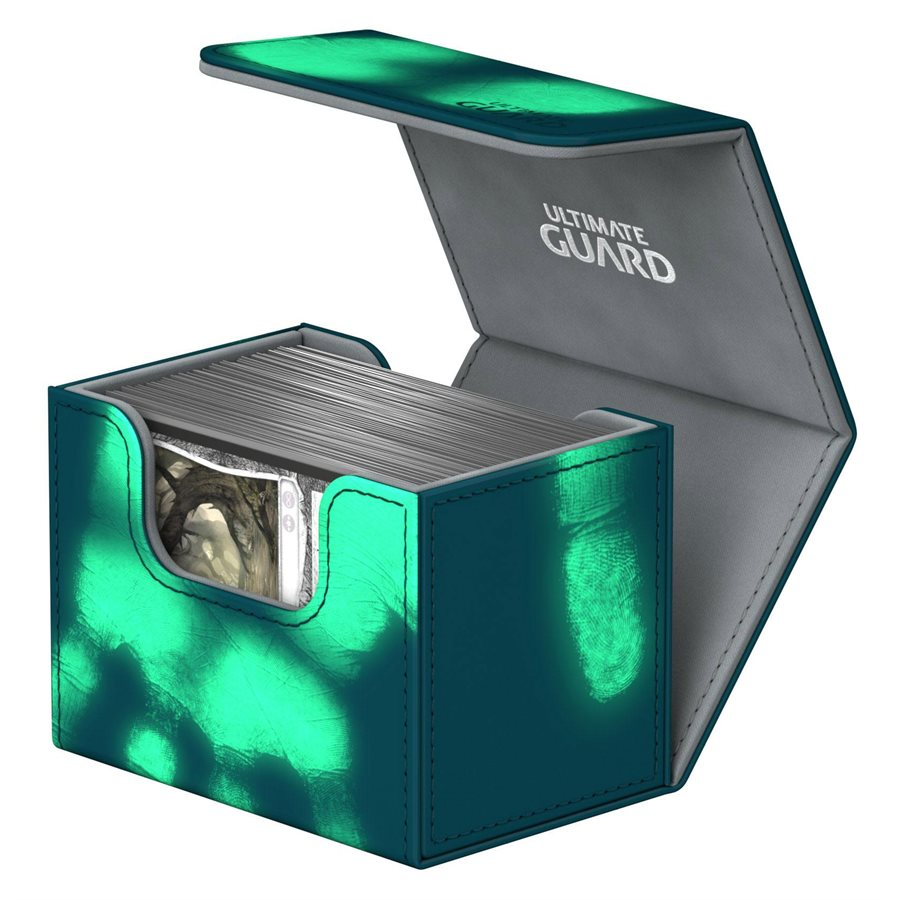 Ultimate Guard: Sidewinder ChromiaSkin Deckbox 100+: Petrol Blue