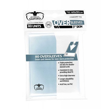 Ultimate Guard: Sleeves - Oversleeves Standard Size (80ct)