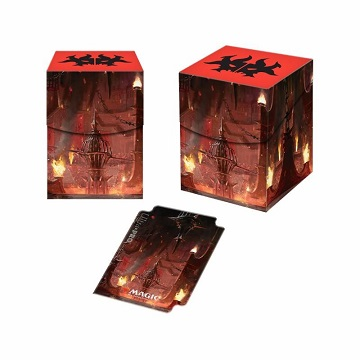 Ultra Pro 100+ Deck Box: Magic The Gathering- Guilds of Ravnica- Cult of Rakdos