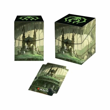 Ultra Pro 100+ Deck Box: Magic The Gathering- Guilds of Ravnica- Golgari Swarm