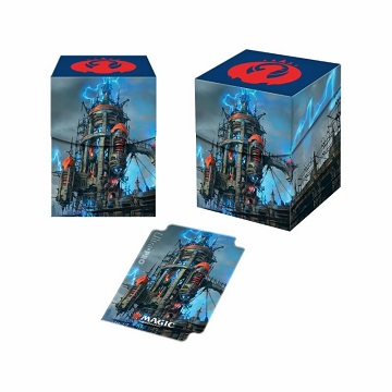 Ultra Pro 100+ Deck Box: Magic The Gathering- Guilds of Ravnica- Izzet League
